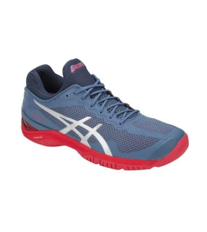 ТЕНИС МАРАТОНКИ ASICS COURT FF MEN BLUE/RED /ДАВИД ГОФЕН/ E700N.400