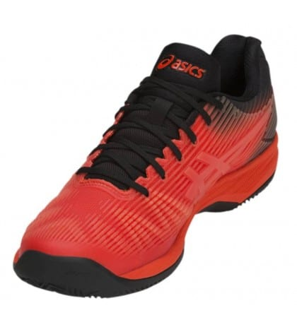 ТЕНИС МАРАТОНКИ ASICS SOLUTION SPEED FF CLAY MEN RED/BLACK 2019