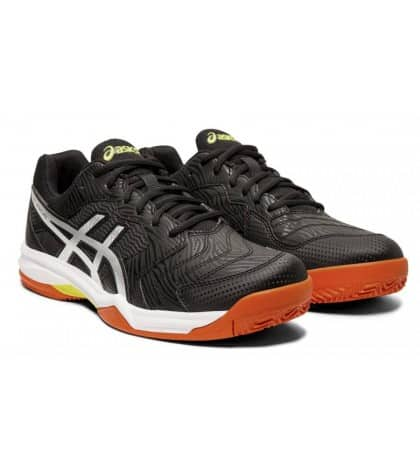 ТЕНИС МАРАТОНКИ ASICS GEL DEDICATE 6 CLAY BLACK/WHITE/ORANGE 1041A080.001