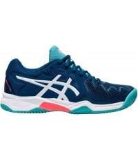 Детски Тенис Маратонки Asics Gel Resolution 8 Clay GS Mako Blue/White 1044A019.402