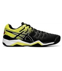 Тенис Маратонки Asics Gel Resolution 7 Clay Black/Lime E702Y.003
