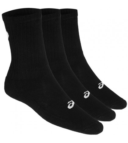 Чорапи Asics Men's 3 Pack Crew Socks Black/Черни/ 155204.0900