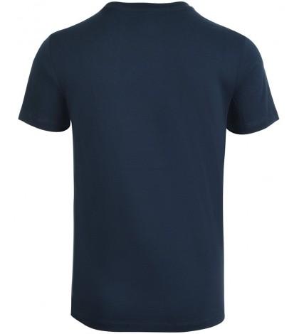 Тениска ASICS MEN'S Seasonal Logo SS TOP PEACOAT BLUE /СИНЯ/