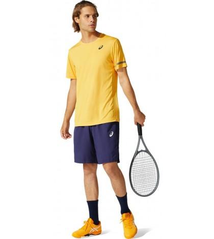 Тениска Asics Men's Court SS T-shirt (Golden Yellow)
