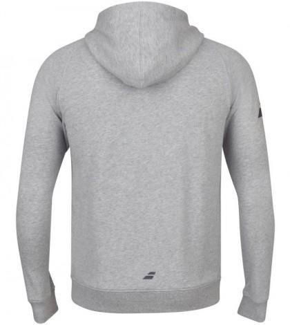 Мъжки Спортен Суичър Babolat Exercise Zipped Hoodie Grey (Сив)