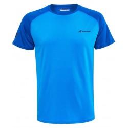 Мъжка Тениска Babolat Men's PLAY CREW T-SHIRT Blue Aster 3MP1011-4049