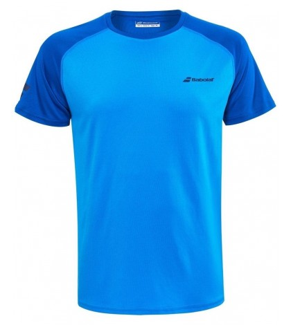 Детска Тениска Babolat Boy's PLAY CREW T-SHIRT Blue Aster 3BP1011-4049