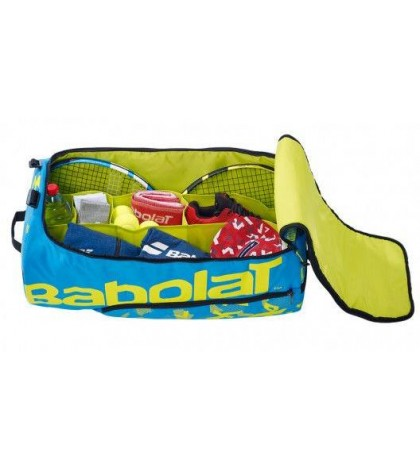 СПОРТЕН САК BABOLAT Team Line DUFFLE XL PLAYFORMANCE BAG BLUE/LIME 2020