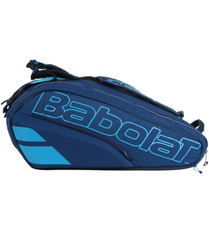 Тенис сак Babolat Racket Holder X12 PURE DRIVE BLUE 2021  (ФОНИНИ, ФЕРЕР, ПЛИШКОВА)