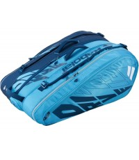 Тенис сак Babolat Racket Holder X12 PURE DRIVE BLUE 2021  (ФОНИНИ, ФЕРЕР, ПЛИШКОВА)