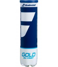 Топки за тенис Babolat GOLD All Court 4 Balls Can 502085