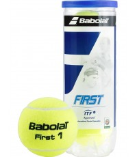 Топки за тенис Babolat FIRST 4 Balls Can 501056