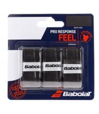 Допълнителен грип BABOLAT PRO RESPONSE X3 BLACK OVERGRIP /ЧЕРНИ/