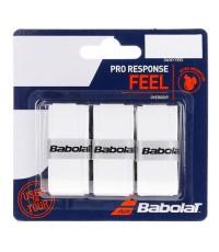 Допълнителен грип BABOLAT PRO RESPONSE X3 WHITE OVERGRIP /БЕЛИ/
