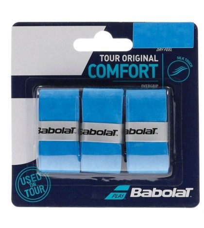 Допълнителен грип BABOLAT TOUR ORIGINAL X3 BLUE OVERGRIP /СИНИ/