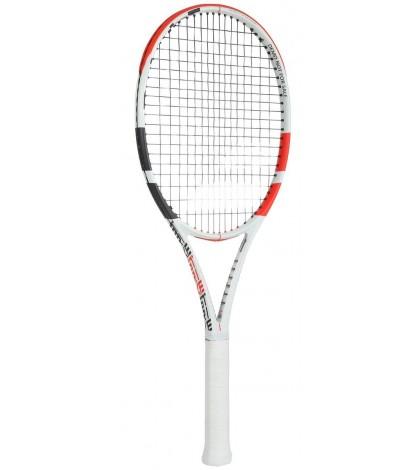 Тенис ракета Babolat Pure Strike 100 (300 грама) White/Red 2020 / Бяло-Червена/