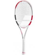 Тенис ракета Babolat Pure Strike Lite (265 грама) White/Red 2020 / Бяло-Червена/