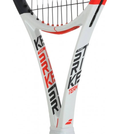 Тенис ракета Babolat Pure Strike Team (285 грама) White/Red 2020 / Бяло-Червена/