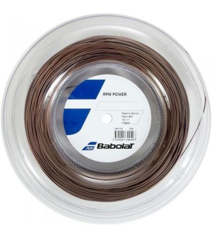Тенис кордаж Babolat RPM POWER ELECTRIC BROWN String Reel 200m