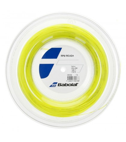 Кордаж Babolat RPM Blast Rough String Reel 200m YELLOW