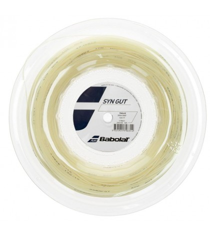 Кордаж Babolat SYNTHETIC GUT String Reel 200m Natural