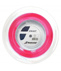 Кордаж Babolat SYNTHETIC GUT String Reel 200m Pink