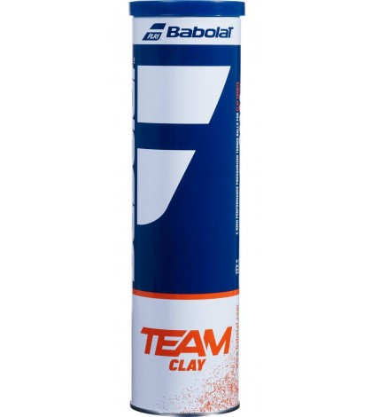Babolat TEAM CLAY 4 Balls Can 502080