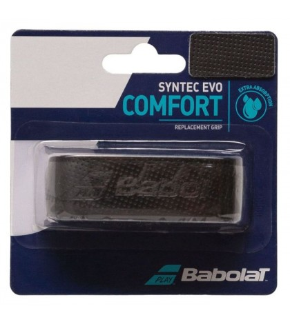 Основен грип BABOLAT SYNTEC EVO GRIP 1 PACK BLACK /ЧЕРЕН/
