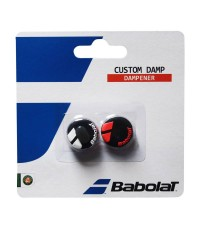 Антивибратор BABOLAT CUSTOM DAMP BLACK-RED/ЧЕРНО-ЧЕРВЕНИ/