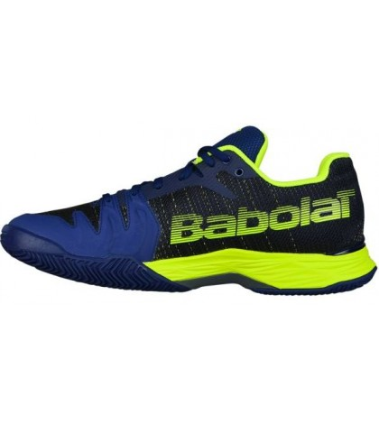 Тенис маратонки BABOLAT JET II MACH CLAY BLUE/YELLOW (СИНЬО-ЖЪЛТИ) 2018