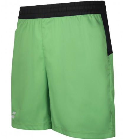 Детски Шорти Babolat Boy's PLAY 5 INCH SHORTS Poison Green/Peacoat 3BTA061-8000