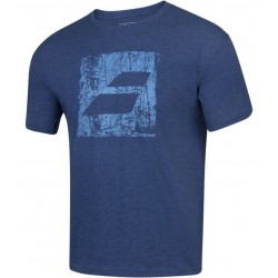 Тениска Babolat EXERCISE BIG FLAG T-shirt Men (Estate Blue Heather) 4MS20442-4005