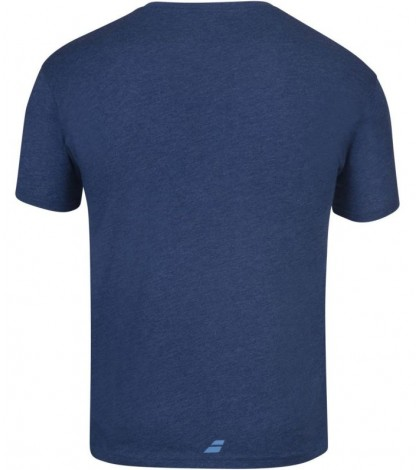 Тениска Babolat EXERCISE BIG FLAG T-shirt Men (Estate Blue Heather) 4MS20442-4005