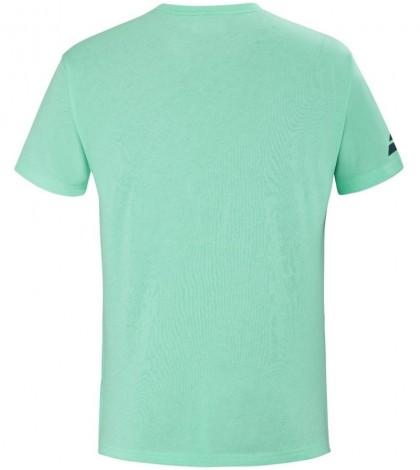 Тениска Babolat EXERCISE BIG FLAG T-shirt Men (Cockatoo Heather) 4MS21442-8003