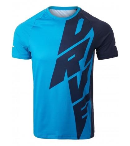 Мъжка Тениска Babolat Men's Drive Crew Neck T-Shirt (Drive Blue) 2MS21011X-4086