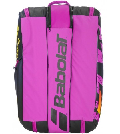 Тенис сак Babolat PURE AERO X12 RAFA BAG BLACK-FUCHSIA 2021 (НАДАЛ) 751215-363