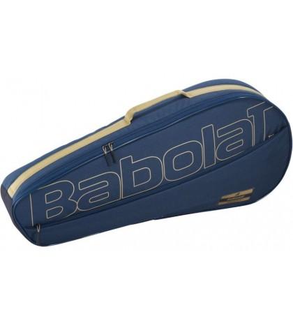 Тенис сак BABOLAT RACKET HOLDER ESSENTIAL X3 CLUB LINE Dark Blue /Тъмно-Син/ 751213-102