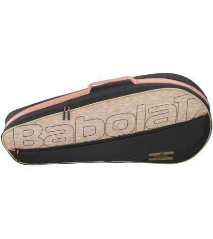Тенис сак BABOLAT RACKET HOLDER ESSENTIAL X3 CLUB LINE Black/Beige /Черно-Бежов/ 751213-342