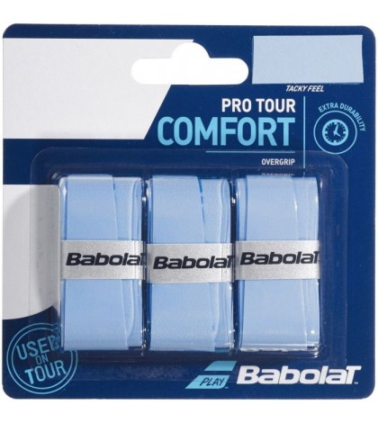 Допълнителен грип BABOLAT PRO TOUR OVERGRIP 3 PACK BLUE /СИН/
