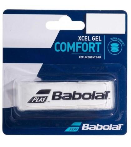 Основен грип BABOLAT XCEL GEL GRIP 1 PACK WHITE /БЯЛ/