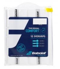 Допълнителен грип BABOLAT TOUR ORIGINAL X 12 OVERGRIP White /БЕЛИ/