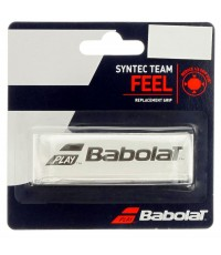 Основен грип BABOLAT SYNTEC TEAM GRIP 1 PACK WHITE /БЯЛ/