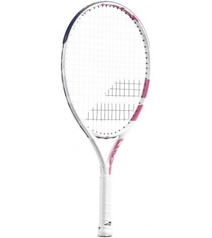 Детска тенис ракета Babolat DRIVE JUNIOR 23 WHITE/PINK