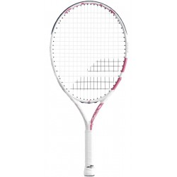 Детска тенис ракета Babolat DRIVE JUNIOR 23 WHITE/PINK