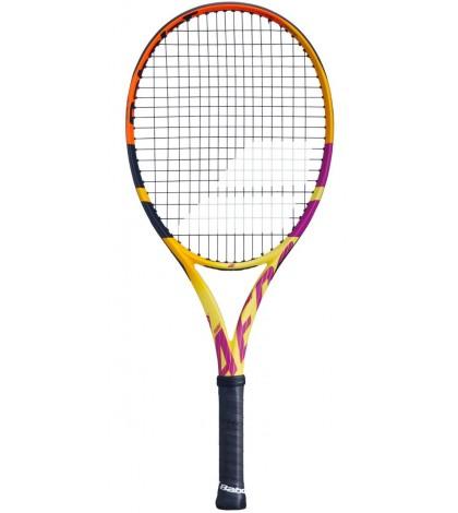 Детска Тенис Ракета Babolat Pure Aero Rafa Junior 26 (Yellow/Black/Orange/Fuchsia)