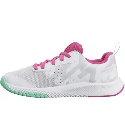 Детски тенис маратонки Babolat Pulsion All Court Junior White/Red Rose