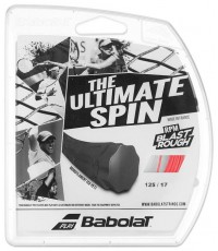 ТЕНИС КОРДАЖ BABOLAT THE ULTIMATE SPIN RPM Blast ROUGH String Set RED/ЧЕРВЕН/