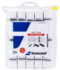 Допълнителен грип BABOLAT PRO TOUR OVERGRIP 30 PACK WHITE /БЯЛ/