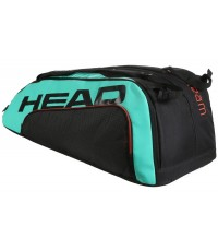 Тенис сак Head Tour Team GRAVITY 12R MONSTERCOMBI BLACK/TEAL 283130