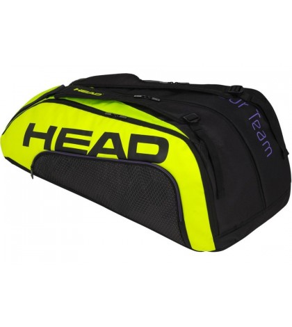 Тенис сак Head Tour Team EXTREME 12R MONSTERCOMBI BLACK/NEON YELLOW 283400